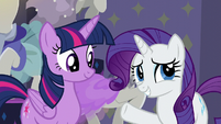 "Rarity ""this is the moment of truth"" S6E9"