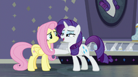 "Rarity ""you've conquered your shyness"" S8E4"