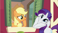 Rarity acting ecstatic S6E10