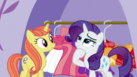 Rarity deep in thought S5E14