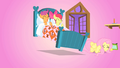 Scootaloo and Apple Bloom hopping in bed S01E17.png