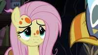 Sick Fluttershy listening to Twilight Sparkle S7E20