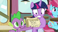 "Spike ""what'd I miss?"" S9E16"