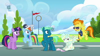 Spitfire --Wonderbolts don't get winded-- S6E24