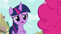 "Twilight Sparkle ""I just saw Rarity"" S7E14"