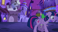 Twilight walks off depressed S5E12