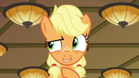 Young Applejack --take a left, then a right-- S6E23