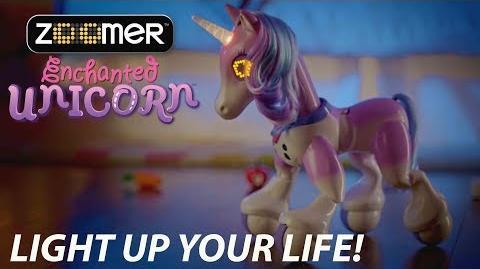 Zoomer Enchanted Unicorn - Light Up Your Life!