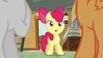 Apple Bloom gets an idea S5E4