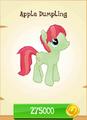 Apple Dumpling MLP Gameloft.png