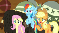 "Applejack ""just hear us out"" S8E18"