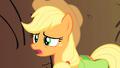Applejack concerned for the safety of her missing friends S1E21.png