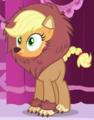 Applejack lion costume ID S5E21.png