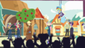 CHS students cheering for Fluttershy CYOE9a.png