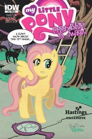 Comic issue 13 Hastings cover