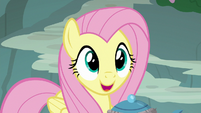 "Fluttershy ""I'm happy to help"" S8E4"