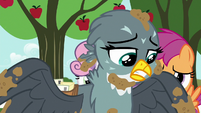 Gabby about to leave for Griffonstone S6E19