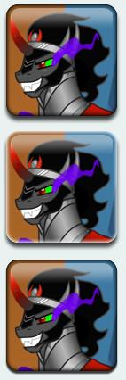 King Sombra wedding quiz icons