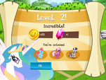 Level 2 promotion MLP Game