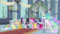 Main 6, Spike and Celestia S2E26