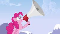 Pinkie Pie's big megaphone S3E7