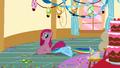 Pinkie Pie sitting on Rainbow Dash S01E25.png