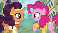 """Pinkie singing """"be unique"""" S6E12"""