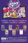 Ponyville Mysteries issue 1 credits page