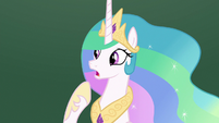 "Princess Celestia ""I don't see anything"" S8E7"