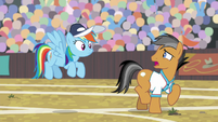 """Quibble """"making a fool of myself"""" S9E6"""