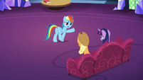 "Rainbow ""is it my fault that I don't like pies?"" S7E23"
