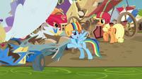 Rainbow Dash --it still counts as a win-- S6E14
