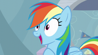 Rainbow Dash gasps S05E05