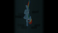 Rainbow Dash going down a Well S2E8