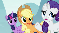 "Rarity ""apple-solutely!"" S8E18"