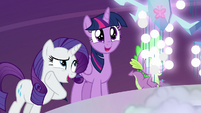 "Rarity ""did you know he can do that?"" S7E26"