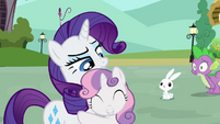 Rarity and Sweetie Belle -lucky guess-- S03E11