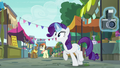 Rarity imitating Pinkie Pie S6E3.png