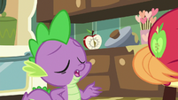 Spike -I don't even buy that one- S8E10