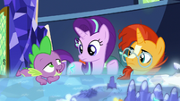 Spike offers to go in Starlight and Sunburst's place S8E8
