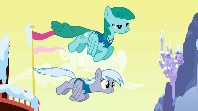 File:Sprinkle Medley and Derpy re-colour fly by S1E11.png