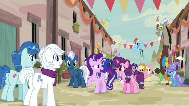 "File:Starlight Glimmer ""where's that baking contest?"" S6E26.png"