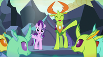 Starlight and Thorax conclude their lesson S7E1