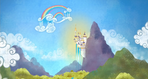 Storybook opening Equestria landscape cropped S1E01