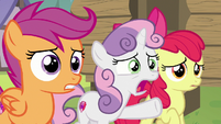 "Sweetie Belle ""you just haiku'd right then!"" S7E21"