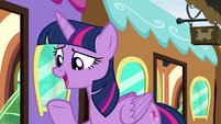 "Twilight Sparkle ""bit of a mystery"" S8E6"