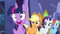 Twilight nervous laugh S5E11