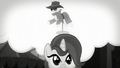 A mannequin talking with Rainbow Dash's voice S5E15.png