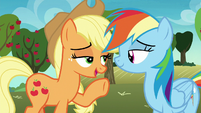 "Applejack ""no, no, of course not"" S8E5"