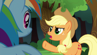 Applejack --their team can beat Ponyville-- S6E18